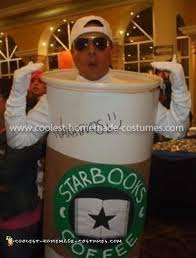Coolest Starbucks Cup Costume