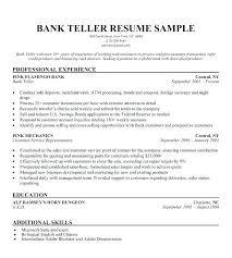 Jobs Without Resume Sample For Bank With No Experience Teller