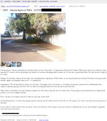 Craigslist Advert Car For Sale: Phoenix, Arizona, Man Posts Advert ...