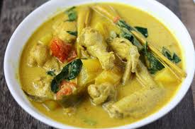 cuisine n駱alaise cuisine malaise traditionnelle d ayam masak lemak photo stock