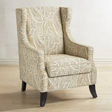 Pier One Papasan Chair Weight Limit by Alec Sand Paisley Wing Chair Pier 1 Imports