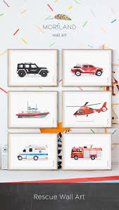 100 Fire Truck Wall Art Truck Print Printable Decor