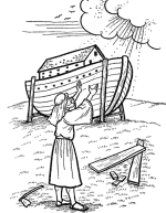 Old Testament Bible Coloring Page