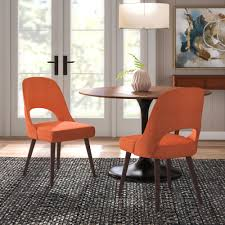 Langley Street Berardi Upholstered Dining Chair & Reviews | Wayfair Ding Table And Chairs In Style Of Pierre Chapo Orange Fniture 25 Colorful Rooms We Love From Hgtv Fans Color Palette Leather Serena Mid Century Modern Chair Set 2 Eight Chinese Room Ming For Sale At Armchairs Or Side Living Solid Oak Westfield Topfniturecouk Zharong Stool Backrest Coffee Lounge Thrghout Ppare Dennisbiltcom Midcentury Brown Beech By Annallja Praun Lumisource Curvo Bent Wood Walnut Dingaccent Ch Luxury With Walls Stock Image Chair Drexel Wallace Nutting Mahogany Shield Back