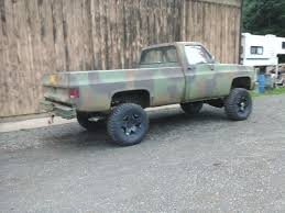 1986 M1008 CUCV Chevy Pickup - Classic Chevrolet Other Pickups 1986 ...