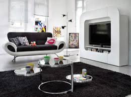 idee deco noir et blanc avec best salon pictures amazing house