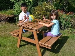 children u0027s picnic table building plans u2014 unique hardscape design