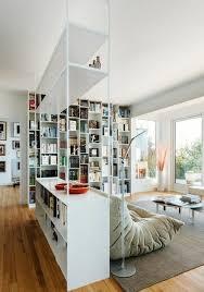 modern ideas for optical separation through shelf room