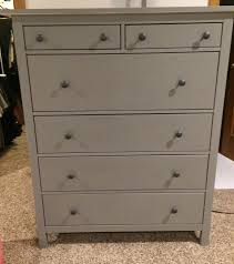 Hemnes 6 Drawer Dresser Grey Brown by A Little Interior Design Decorating