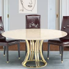 Gallery Of Buy Rose Gold And Glass Round Dining Table Online CFS UK Excellent 1