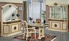 klassisches esszimmer gold mäander atena italienische möbel