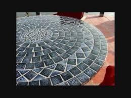 table ronde mosaique fer forge tables en mosaïque et mobilier en fer forgé pour un été 2018