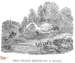 100 King Of The Frogs Pick A Fables Of Aesop