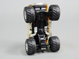 RC 1/43 Radio Control RC Micro Monster Truck HUMMER W/ LED Lights ...