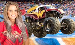 Who's Driving That Wonder Woman Truck? Meet Monster Jam's Collete ... Not Ready To Be A Fulltime Parent Foster Petthursday Kiss Monster Jam Mpls Dtown Council Worlds Youngest Pro Female Truck Driver 19year Old Funky Polkadot Giraffe Monster Jam Returns To Angel Stadium Of First Female Grave Digger Driver With Comes Des Moines Wkforit Apparel Featured Athletes Pedal The Metal Arc Magazine The No Joe Schmo Rosalee Ramer Women Drivers Bsmaster Builds Her Own Rides Youtube