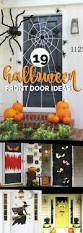 Homemade Halloween Decorations Pinterest by Best 25 Diy Halloween Door Decorations Ideas On Pinterest