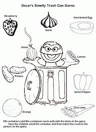 Awesome Photos Five Senses Coloring Pages View Page