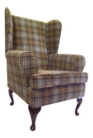 Details About Wing Back Queen Anne Chair Blue Tartan Fabric ... Tartan Armchair In Moodiesburn Glasgow Gumtree Queen Anne Style Chair In A Plum Fabric Wing Back Halifax Chairs Gliders Gus Modern Red Sherlock From Next Uk Fixer Upper Pink Rtan Armchair 28 Images A Seat On Maine Cottage Arm High Back Inverness Highland Beige Bloggertesinfo Antique Victorian Sold Armchairs Recliner Ikea William Moss Fireside Delivery Vintage Polish Beech By Hanna Lis For Bystrzyckie Fabryki Armchairs 20 Best Living Room Highland Style