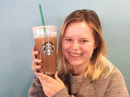 My Trenta Iced Coffee Is Bigger Than Head Kate Taylor SBUX Starbucks