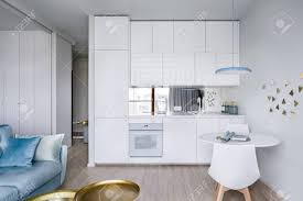 100 Small Modern Apartment Contemporary Apartment Interior With Small Modern And White Kitchenette
