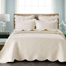 Calvin Klein Bedding by Sage Garden Ivory By Calla Angel Quilts Beddingsuperstore Com