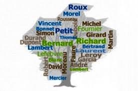 nom le plus porte en nom de famille quelle est origine et lesquels sont les plus