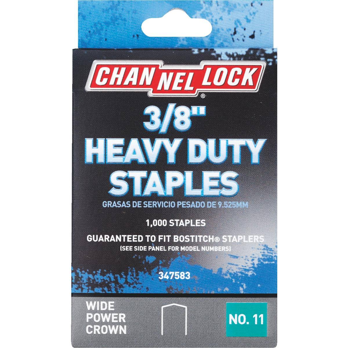 Do It Best Heavy Duty staples - 1000 Staples, 3/8""