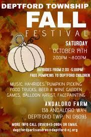 Pumpkin Picking Nj by Event Listing Deptford Township Nj