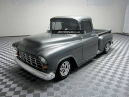 100 1955 Chevy Truck Restoration Custom Steet Rod Pickup Frame Off V8