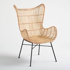 Natural Rattan Willis Wingback Chair | World Market Italian 1940s Wicker Lounge Chair Att To Casa E Giardino Kay High Rocking By Gloster Fniture Stylepark Natural Rattan Rocking Chair Vintage Style Amazoncouk Kitchen Best Way For Your Relaxing Using Wicker Sf180515i1roh Noordwolde Bent Rattan Design Sold Mid Century Modern Franco Albini Klara With Cane Back Hivemoderncom Yamakawa Bamboo 1960s 86256 In Bamboo And Design Market Laze Outdoor Roda