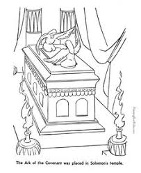 Ark Of The Covenant Coloring Picture