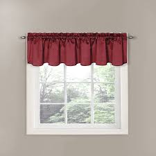 Amazon Red Kitchen Curtains by Shop Amazon Com Window Valances