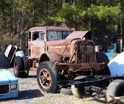100 Junk Truck Autocar Yard Kris Flickr