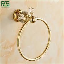 flg bad accessoires messing kristall gold titan wc bürstenhalter goldene badezimmer produkte