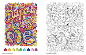 Happy Feelings Coloring Page
