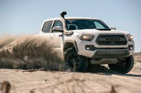 TRD Pro Trucks: Toyota's 2019 Flagship Off-Roaders - Truck Talk ... New Toyota Truck Magnificent Trucks Best Used 2012 Ford Toyota End Collaboration On Hybrid Trucks Michigan Radio Month Specials Canton Mi Tundra Tacoma For 2015 Suvs And Vans Jd Power 2018 Trd Sport 5 Things You Need To Know Video Check Out These Rad Hilux We Cant Have In The Us Hilux Leads Sales Charts While Hino 500 Wide Cab Imprses Responds Inquiry Over Vehicles Being Used By Is Sport Truck Modif