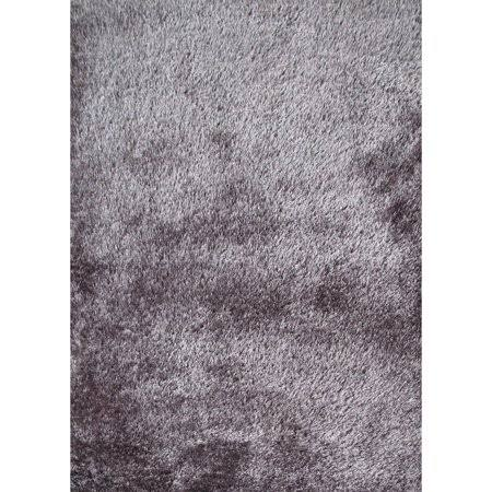 Rug Addiction Soft as Silk Shaggy Rug Runner Brimming with A Neutral Shade of Gray - 2' x 7'5 inch