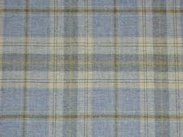 Material For Curtains Uk by 100 Wool Tartan Plaid Cornflower Blue Fabric Curtain Upholstery