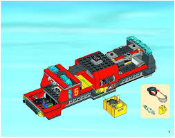 LEGO Airport Fire Truck Instructions 60061, City