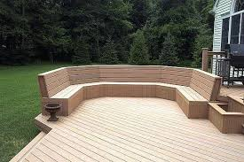 creative of composite wood bench 25 best ideas about deck bench