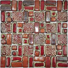 craft porcelain mosaic tiles backsplash kitchen wall tile