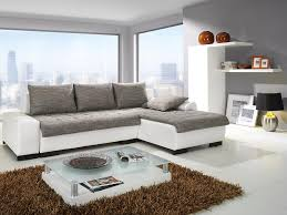 modern living room furnitures with white and grey colors theme