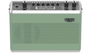 buy bush retro wireless dab radio green radios and clock radios argos