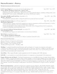 Federal Government Resume Template Templates Job