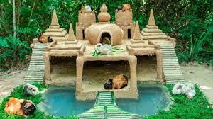 100 Photos Of Pool Houses Build Most Beautiful Guinea Pig House With 7 Towers Temple And Tiny Swimming