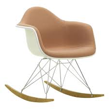 Eames RAR Chair - Charles & Ray Eames, 1950 Vitra Design Adult Fairglen Wood Arm Modern Rocking Chair Beige Project 62 This Little Miggy Stayed Home Nursery Inspiration 9 Best Glider Rockers 2019 The Strategist New York Magazine Vieques Armchair Rar Molded Black Plastic With Steel Eiffel Legs Ims New Supreme Flat Fiberglass Side Baxton Studio Yashiya Midcentury Retro Grey Fabric Upholstered Adding Comfort To A Wooden Part One Sewing Eames Rocker Lounge