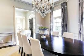 Dining Room Draperies Gray With Purple Curtains Curtain Ideas