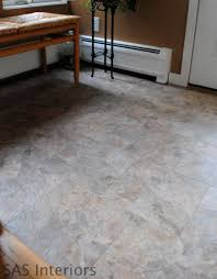 did you that you can grout peel and stick vinyl tiles to look