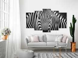 acrylbild mit zebra