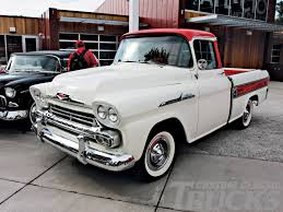 1958 Chevy Truck - Yahoo Search Results | Farm/Ranch Dream ... 58 59 Chevy Apache Fleetside Description Chevrolet Old Parked Cars 1958 Suburban Panel Truck Edit I Think Pickup Youtube Gmc Big Window Custom Short Bed For Sale Used 31 Cameo Carrier V8 Autopspbac Venice Fl 3100 Pick Up 57 American For Sale Craigslist Bgcmassorg Near Burke South Dakota 57523 Pickups To Steal The Show Lowvelder Suburban And Automotive News Lambrecht Prerves History Of Auction 2065258 Hemmings Motor News